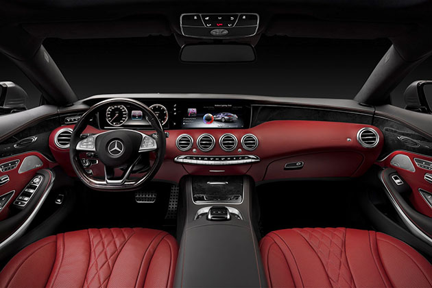 2015 Mercedes-Benz S-Class Coupe 6
