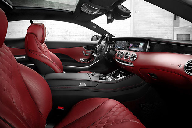 2015 Mercedes-Benz S-Class Coupe 7