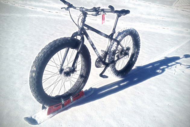 BikeBoards Skis For Bicycles 2