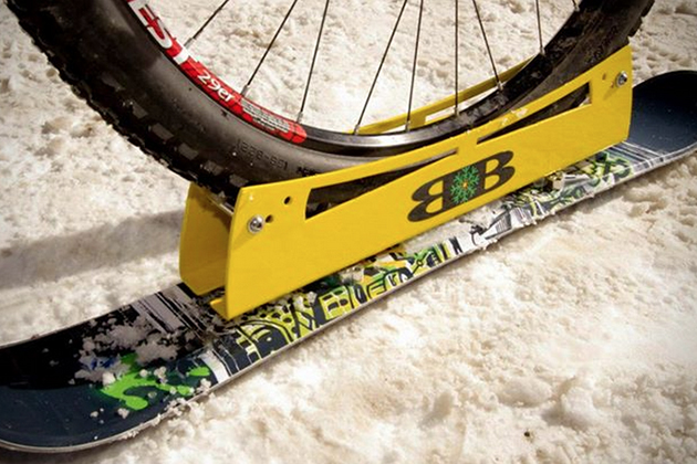 BikeBoards Skis For Bicycles 3