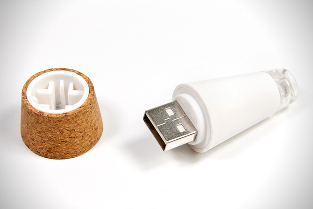 Bottle Light- Rechargeable LED Cork 2