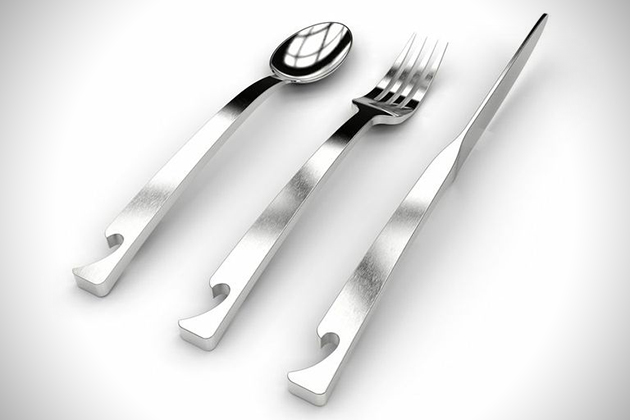 Brew Cutlery Utensils With Built-In Bottle Openers 2
