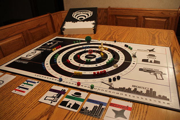Inceptor- Board Game Based On Inception 2