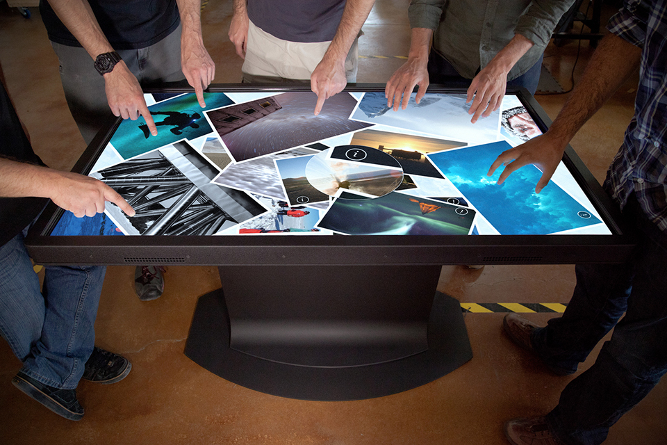 Multitouch Coffee Tables From Ideum HiConsumption - Multitouch coffee table