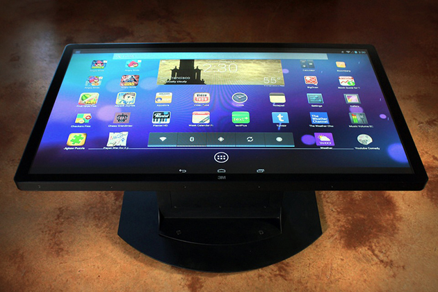 Multitouch Coffee Tables from Ideum 3
