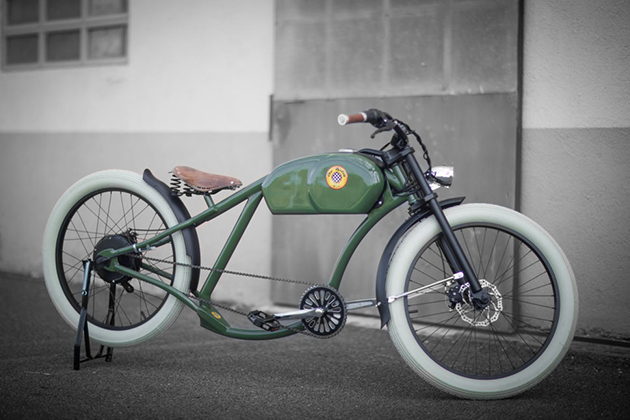 Oto Cycles Vintage Style Electric Bicycles 2