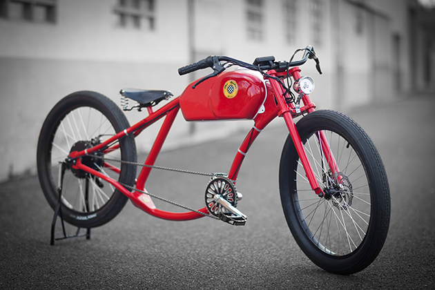 Oto Cycles Vintage Style Electric Bicycles 3
