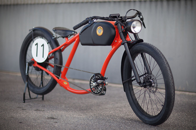 Oto Cycles Vintage Style Electric Bicycles 4