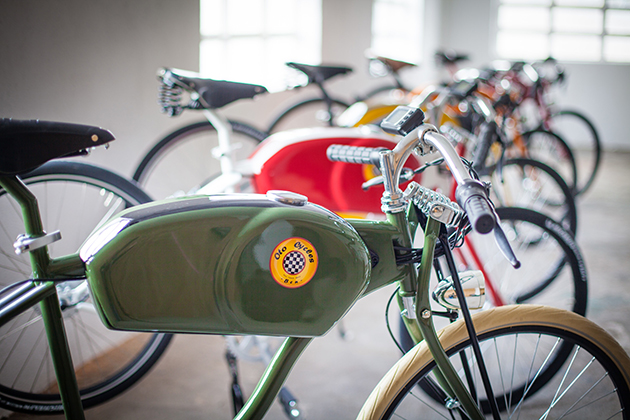 Oto Cycles Vintage Style Electric Bicycles 5