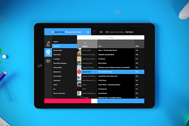 Pacemaker iPad DJ App With Spotify 4