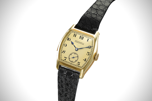 Patek Philippe 1895 1927 Yellow Gold Minute Repeating Wristwatch