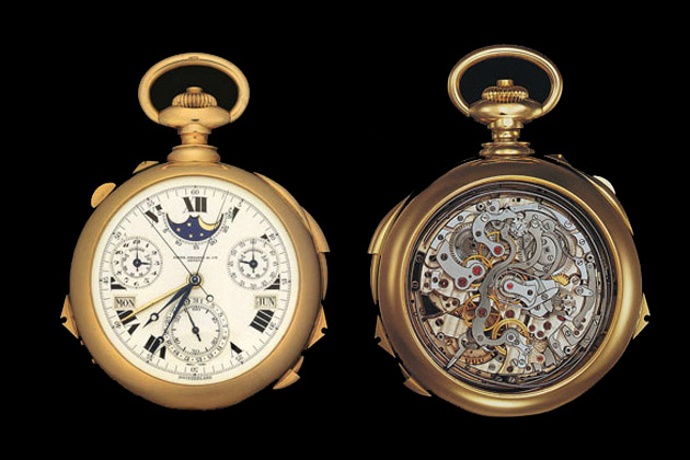Patek Phillipe Henry Graves Supercomplication Pocket Watch