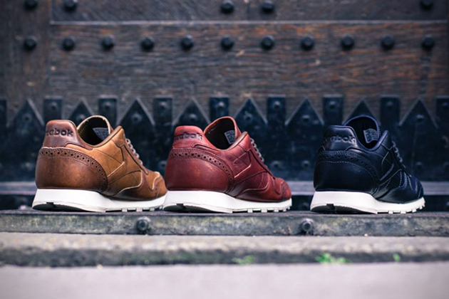 Reebok Classic Leather Lux Brogue Pack 5
