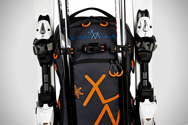 Snowmule Backpack Tows Kids Behind You 3