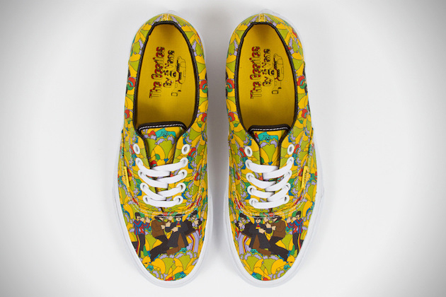 7a100c6d03 The Beatles x Vans Yellow Submarine Sneaker Collection 2