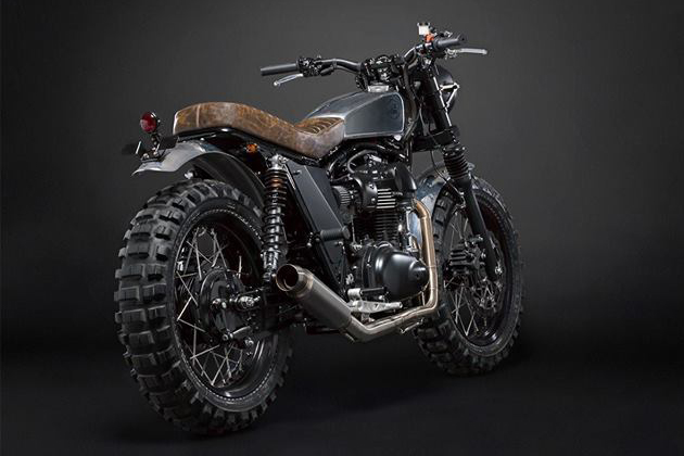 The Scrambler Motorcycle by Moto Di Ferro 3