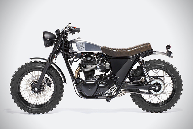 The Scrambler Motorcycle by Moto Di Ferro 4