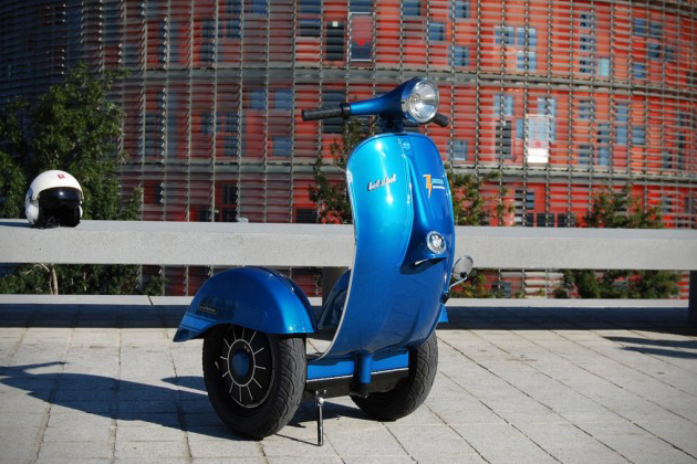 Vespa Inspired Segway Scooter 2