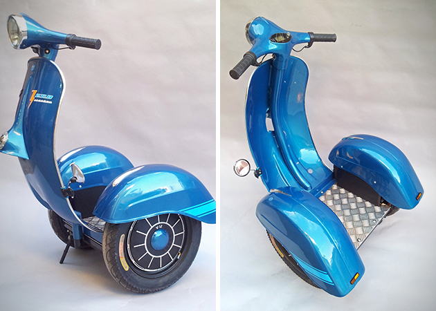 Vespa Inspired Segway Scooter 3