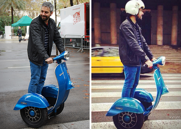 Vespa Inspired Segway Scooter 4