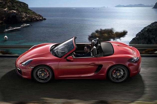 2015 Porsche Boxster and Cayman GTS 06