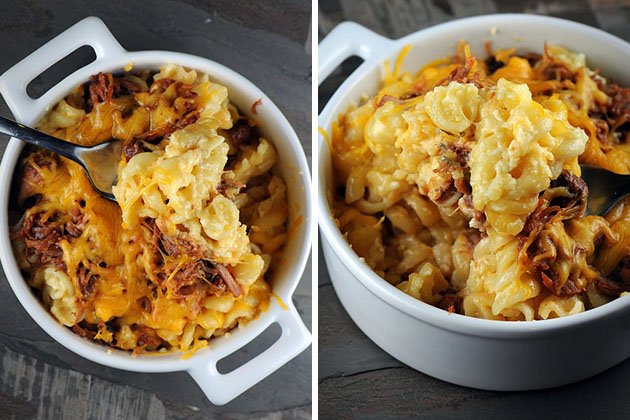 BBQ Pulled Pork Macaroni and Cheese 1