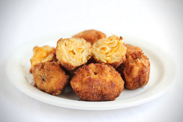 Fried Bacon Macaroni and Cheese Balls