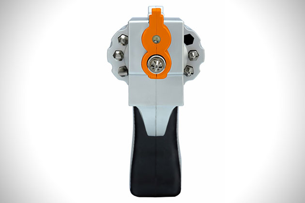 Revolver Shaped Rechargeable Screwdriver 5