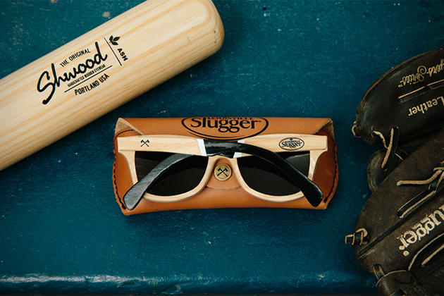 Shwood Louisville Slugger Wood Sunglasses 4