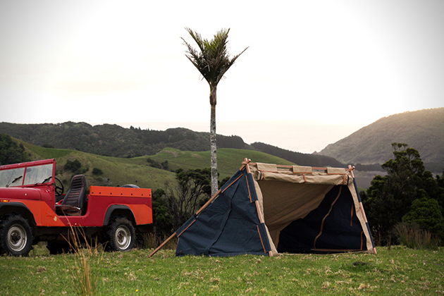 Under Cover Camper- Two Person Canvas Tent 2