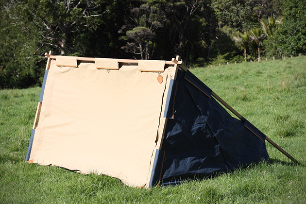 Under Cover Camper- Two Person Canvas Tent 3