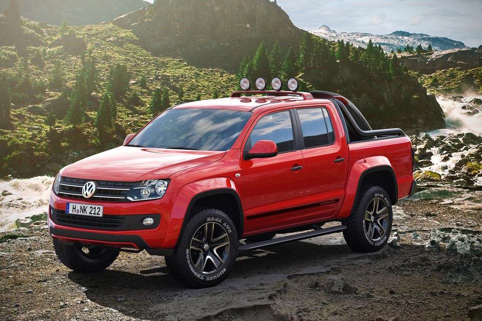 Volkswagen Amarok Canyon Edition Pickup Truck Hiconsumption