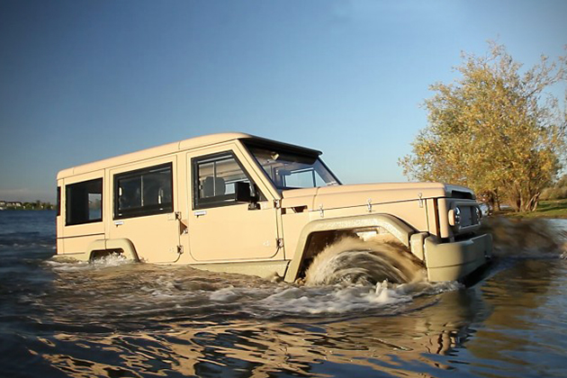 Amphibicruiser 4WD Amphibious Vehicle 5