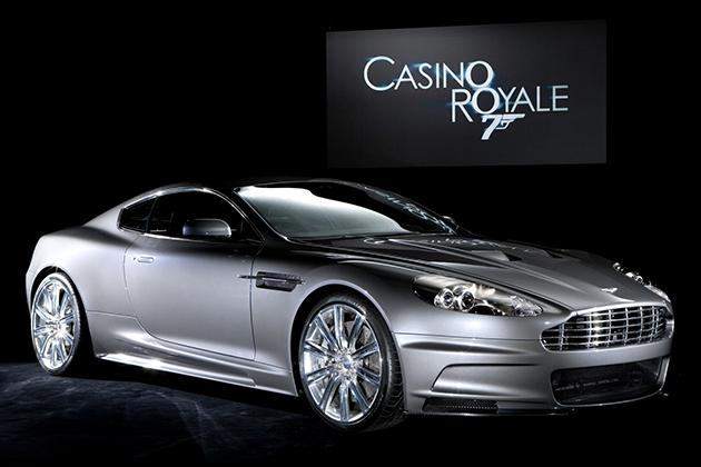 Aston Martin DBS V12 DB9 from Casino Royale