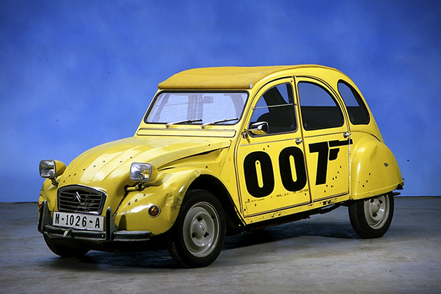 Citroen 2CV from For Your Eyes Only