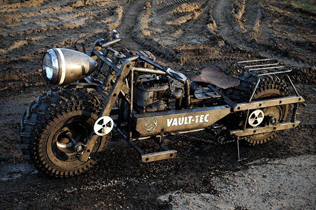 Fallout 3 Motorcycle 2