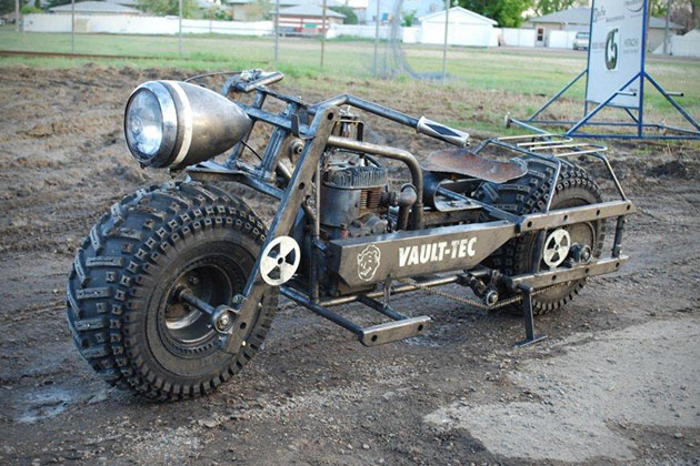 Fallout 3 Motorcycle 3