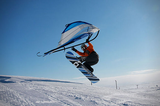 KiteWing- Wind-Powered Action Sport Wing 1