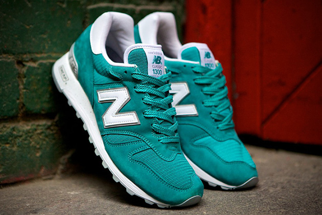 New Balance 1300 Made In USA - Teal 3