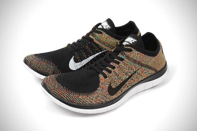 huge selection of ed6cc 6f39f Nike Free 4.0 Flyknit Multicolor | HiConsumption