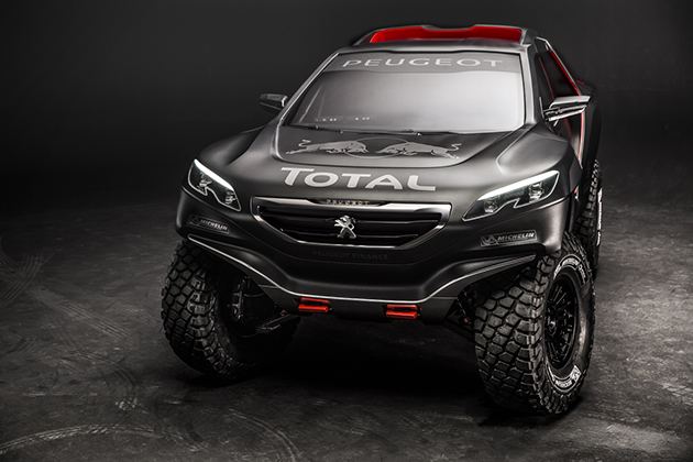 Peugeot 2008 DKR Rally Car 2