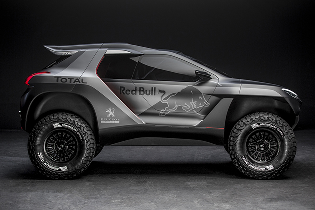 Peugeot 2008 DKR Rally Car 5
