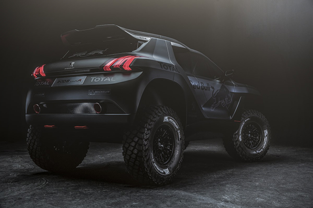 Peugeot 2008 DKR Rally Car 6