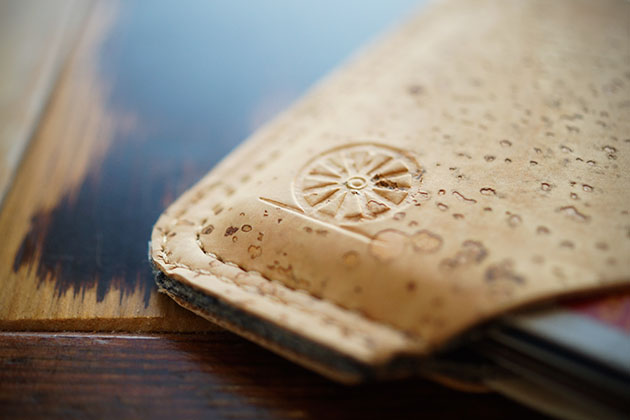 The SLIDE Cork Wallet by Stitch and Locke 2