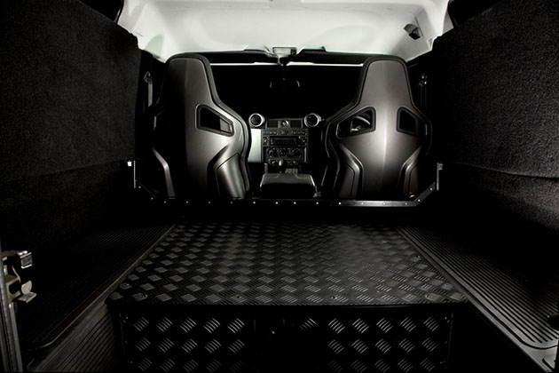 Twisted Alpine Edition Land Rover Defender 6