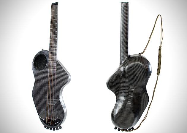 Alpaca Carbon Fiber Travel Guitar 3