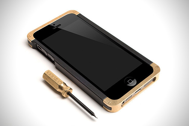 Brass iPhone Case by Revisit 2