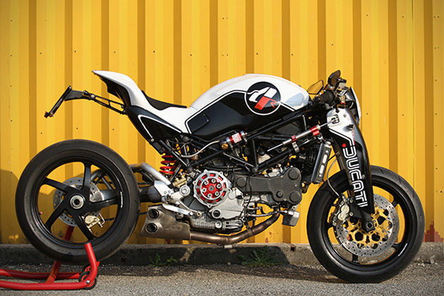 Ducati Monster MS4R By Paolo Tesio 2