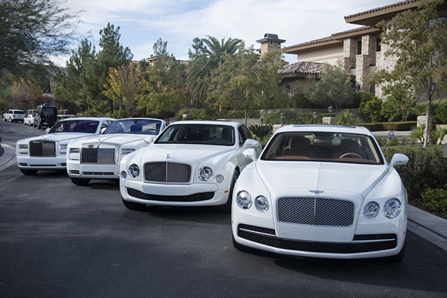 Floyd Mayweathers White Car Collection 2