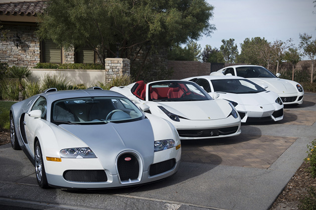 Floyd Mayweathers White Car Collection 3